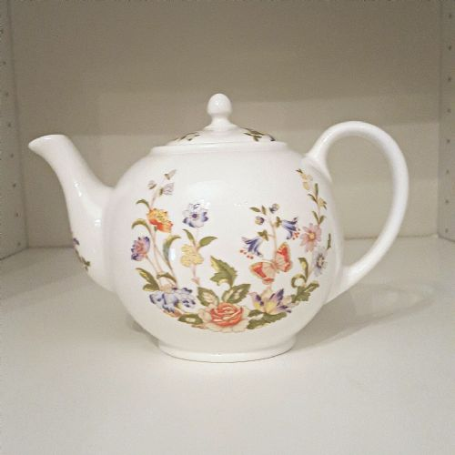 Aynsley Cottage Garden Early Morning Teapot